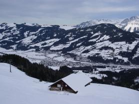 Zima v Kitzbühelu