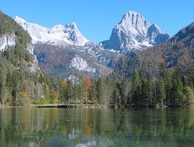 Krajina rakouských Alp kolem Kitzbühelu