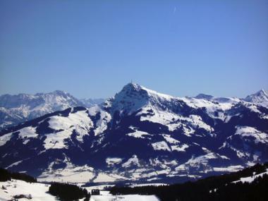 Pohled na Kitzbüheler Horn