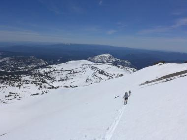 Pohled na vyznavače skitouringu
