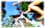 Kitzbühel a cyklistický závodník