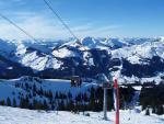 Rakouské zimní středisko Kitzbühel